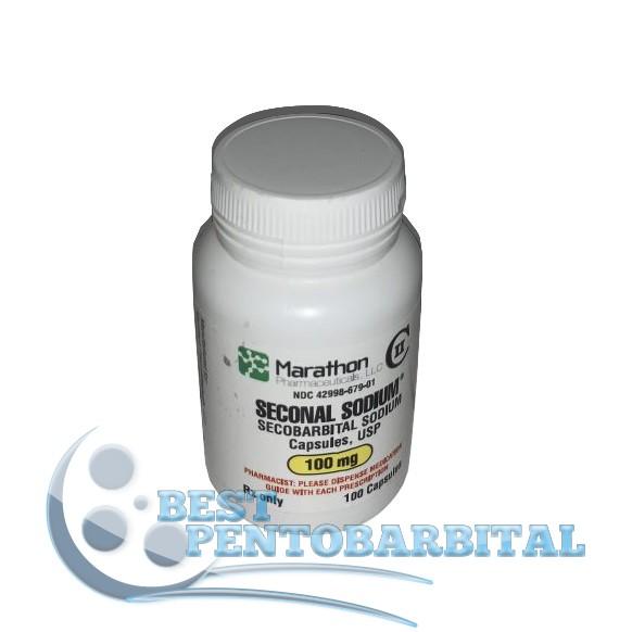 Buy Marathon Seconal Sodium 100mg